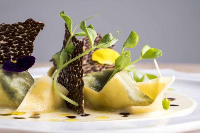 Tortello mit hausgemachtem Ricotta-Käse