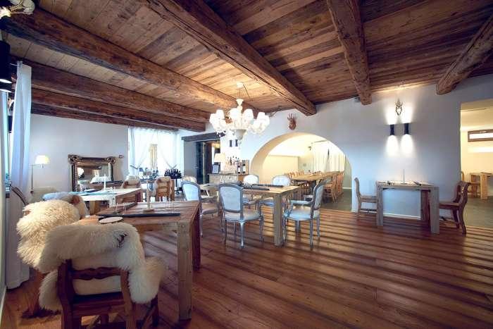 Sala da pranzo ristorante