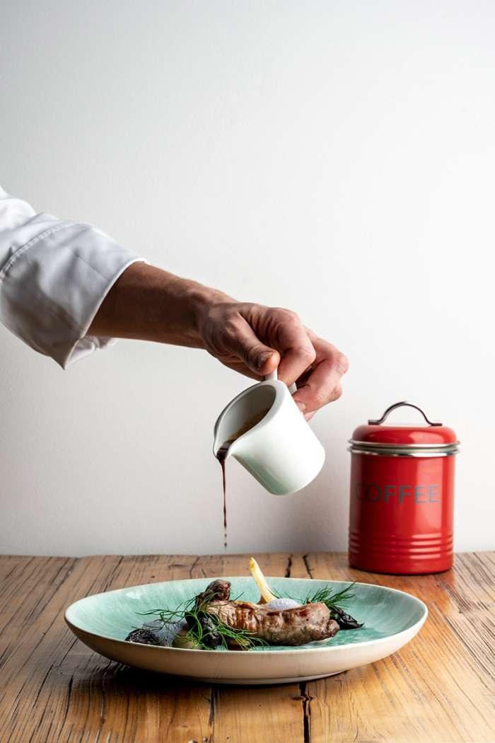 Agnello in salsa
